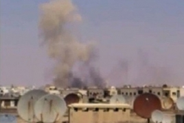 Russia says 4 planes hit Nusra positions in Syria's Idlib province