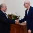Президент Армении встретился с известным экономистом Кьеллем Нордстрёмом