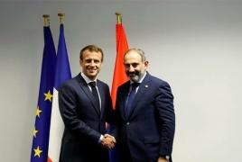 Пашинян поедет во Францию по приглашению Макрона
