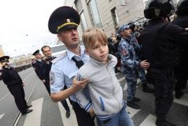 По всей России прошли акции против пенсионной реформы: Сотни задержанных и избитых (фото)