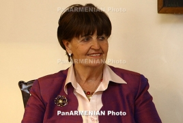 Baroness Cox arrives in Artsakh again, meets Foreign Minister