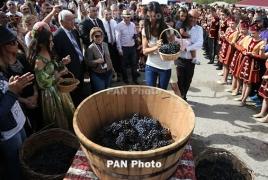 Фестиваль вина в Арцахе - в топ-5 осенних эногастрособытий