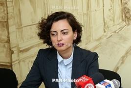 Լենա Նազարյանը՝ ԱԺ ԵԼՔ խմբակցության ղեկավար