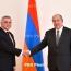 Президент Армении и посол Украины обсудили дальнейшее развитие взаимодействия между странами