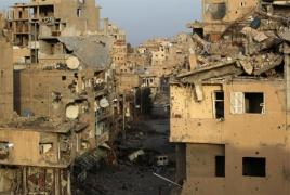 Syrian army 'nearly splits Islamic State's Deir ez-Zor pocket in half'