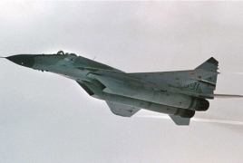 Syrian military confronts missiles in country's west