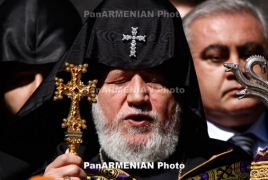 Catholicos of All Armenians Karekin II not resigning: Mother See