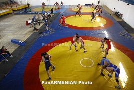 Armenian wrestler wins Junior World Championships gold