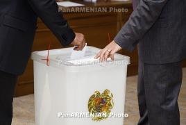 Polls open across Yerevan for municipal elections