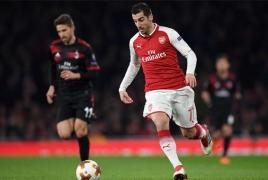 Arsenal assessing Mkhitaryan's fitness ahead of Everton clash