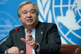 UN chief: Armenia is a'fantastic' examlpe of transfer of power