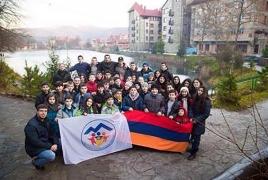 В армянских общинах Украины отмечают 27-летие независимости РА