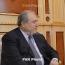 Armenia President talks investment opportunities in France