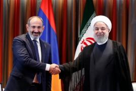 Iran, Armenia leaders discuss mutual interests at UN headquarters