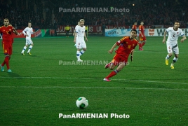 Armenia's Gevorg Ghazaryan scores twice in Chaves vs Benfica