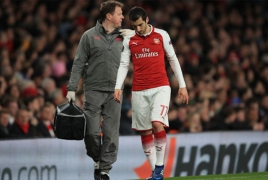 Henrikh Mkhitaryan 'will not travel to Azerbaijan' for Europa League game