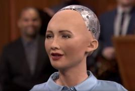 Sophia the robot to arrive in Armenia for Francophonie forum