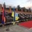 В Запорожье открыли посвященный армянскому алфавиту памятник