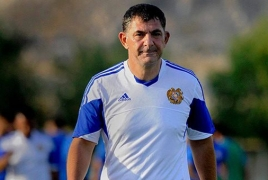 Armenia football team has a new chief coach