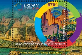 HayPost cancels souvenir sheet to celebrate Francophonie in Yerevan