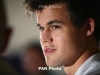 Magnus Carlsen, Arthur Abraham play chess in Hamburg
