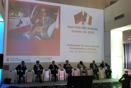 Coca-Cola Hellenic Armenia shares experience at Francophonie Economic Forum