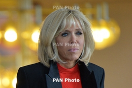 Brigitte Macron: this is an extra ordinal welcome which we will remember for a long time