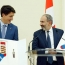 Pashinyan and Trudeau keep the promise and meet in matching socks