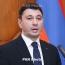 Вице-спикер парламента Армении примет участие в совещании ОДКБ в Петербурге