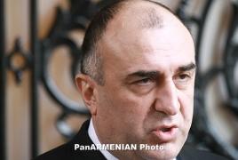 Мамедъяров: Надеемся, Армения скоро продолжит переговоры по Карабаху
