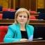 Депутат фракции РПА Рузанна Мурадян сложила мандат