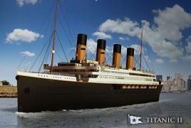 Копию «Титаника» спустят на воду в 2022 году
