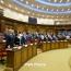 1 ноября парламент Армении обсудит вопрос избрания премьера