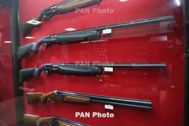 Armenia judges will be given service handguns