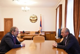 Armenia, Artsakh leaders discuss military cooperation