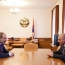 Armenia, Artsakh leaders discuss military cooperation