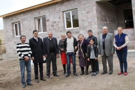 One more family in rural Armenia have a decent home now