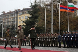 ՊՆ պատվիրակությունը Բուլղարիայում քննարկել է ռազմատեխնիկական գործակցության հարցեր