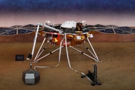 Зонд НАСА совершил посадку на Марс