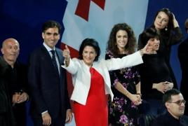 Президентом Грузии впервые стала женщина