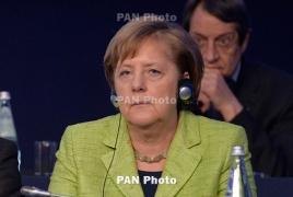 Merkel: Russia of creates instability in Ukraine, Georgia, Armenia