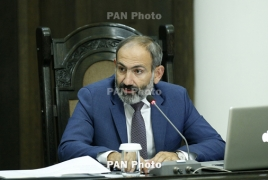 Armenia acting PM to travel to Moscow Dec 6
