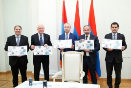New postage stamps celebrate 9th laureate of Armenia's GIT Award