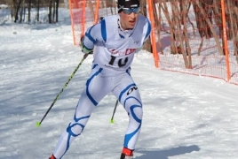 Армянский лыжник завоевал второе золото на международном турнире в Финляндии
