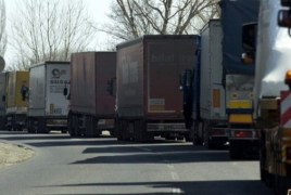 ՀՀ ճանապարհները բաց են, Լարսում ռուսական կողմից 320 բեռնատար է կուտակված