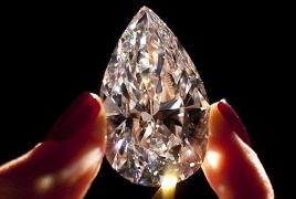Armenia second largest exporter of diamonds in CIS: study