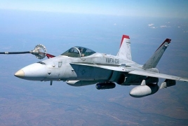 U.S. warplanes collide off Japan, five Marines missing