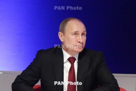 Putin wishes success to Armenia as Yerevan assumes EAEU presidency