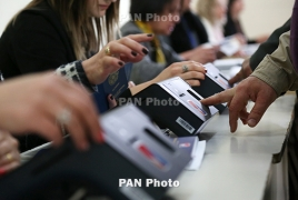 Armenia elections: 7.8% of voters cast ballots in three hours