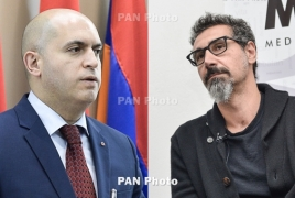 Armenia vote: Serj Tankian, RPA lawmaker trade verbal blows